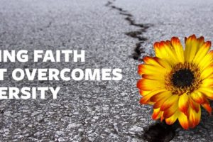 Having Faith that Overcomes Diversity
