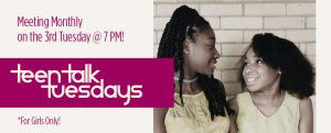 Teen Talk (Girls Only) @ Union Baptist Church of Rembert, SC | Rembert | South Carolina | United States