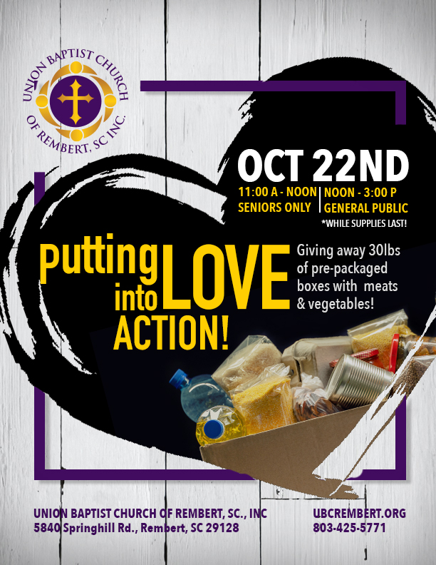Putting Love Into Action - October 2020