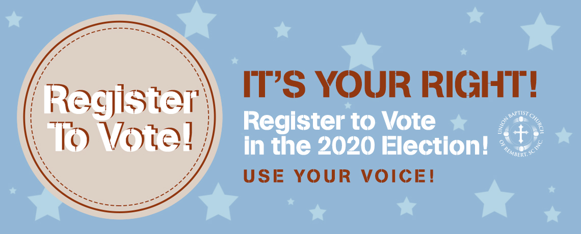 Register to Vote 2020